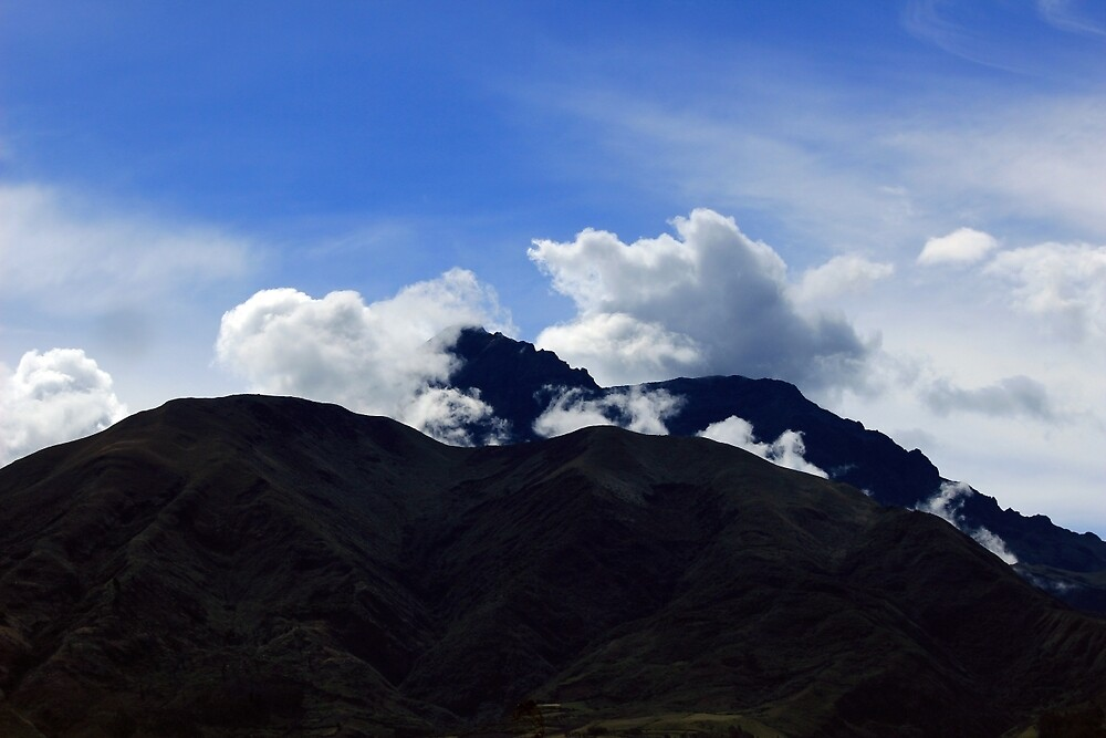 Clouds Over a Volcano by rhamm