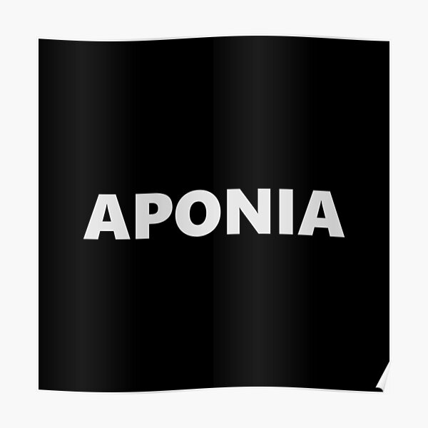 APONIA Poster