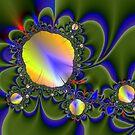 Floating Mirror Flower Fractal by LjMaxx