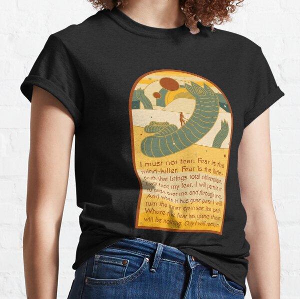 Litany against fear. Classic T-Shirt