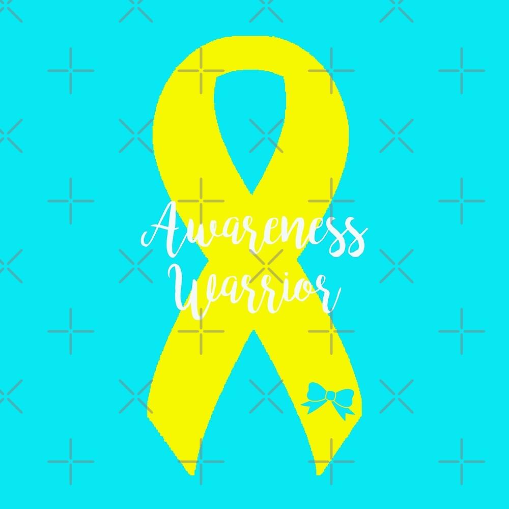 Awareness Warrior - Yellow by Nisa Katz