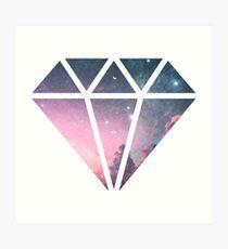 Como un diamante en el cielo Lámina artística