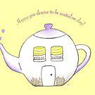Well-deserved tea break by Sally Kate Yeoman