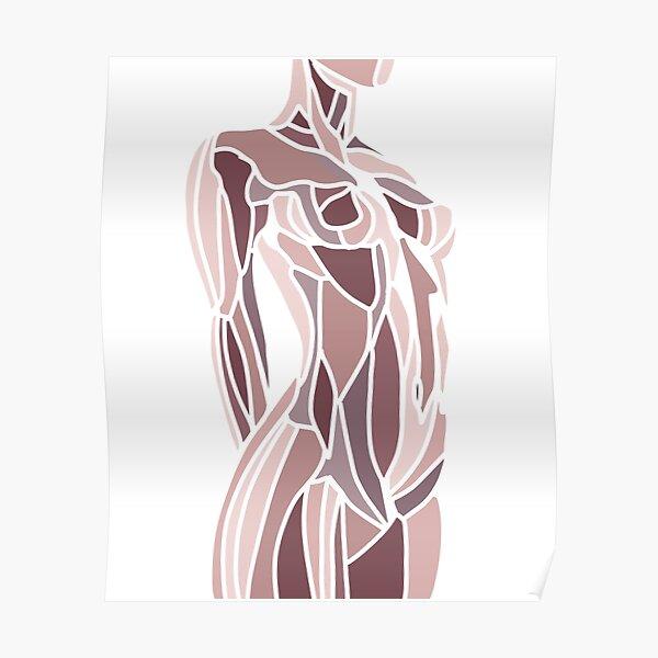 Femme nue, debout Poster