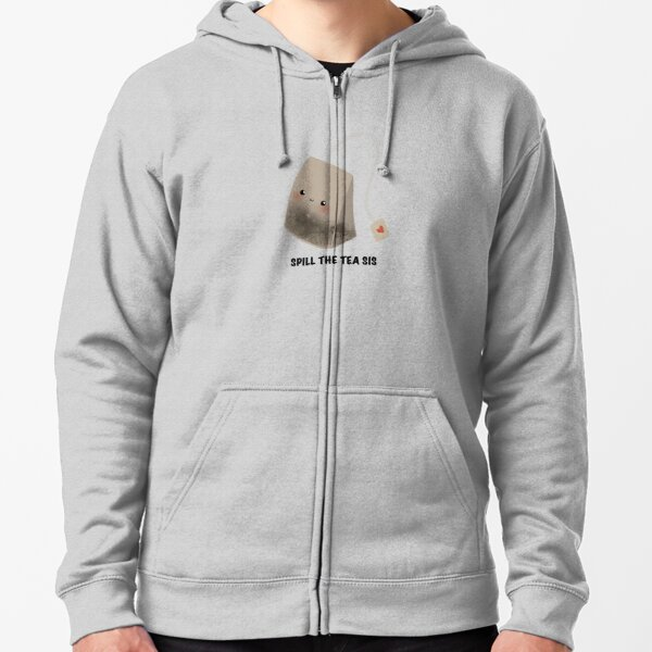 Sis Tie-Dye Youth-Sized Hoodie Expression Tees Spill The Tea