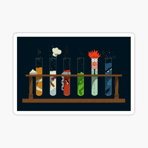 Muppet Science - Chemistry  Sticker