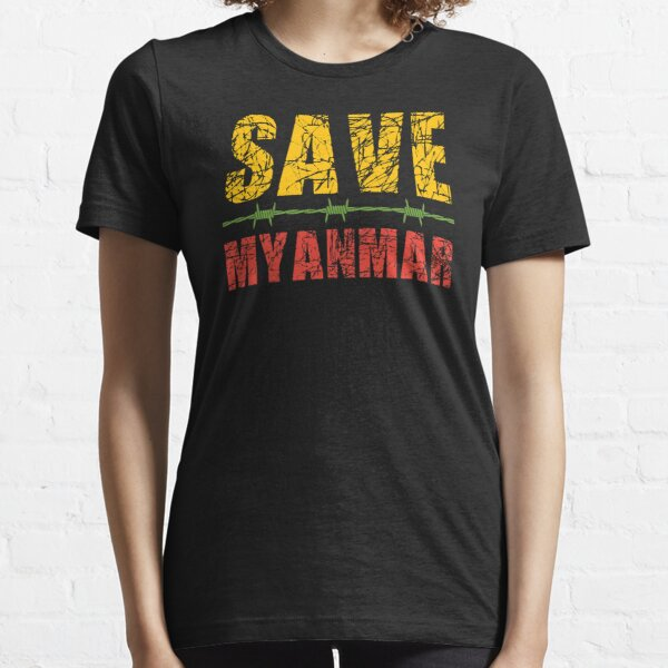 Save Myanmar Essential T-Shirt