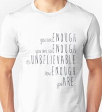 you are enough - sierra boggess Unisex T-Shirt