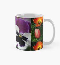 Sunkissed Blumen-Collage Tasse (Standard)
