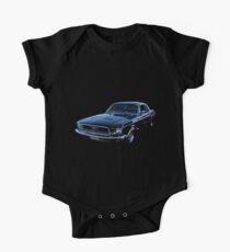 Black Ford Mustang Kids Clothes