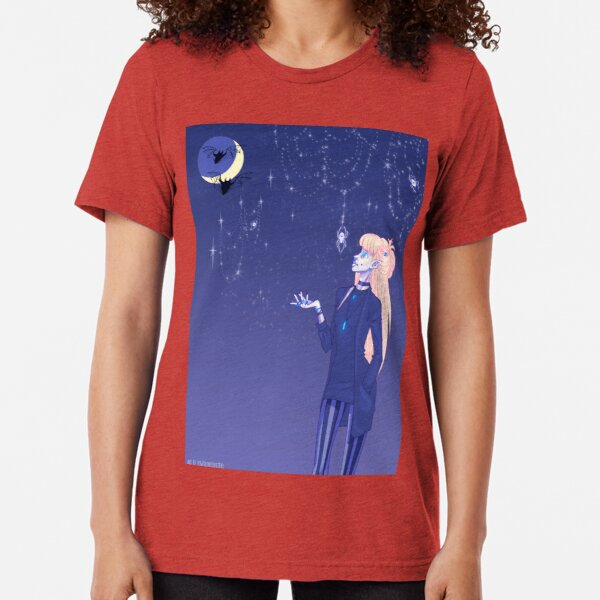 Spiderweb Stars Tri-blend T-Shirt