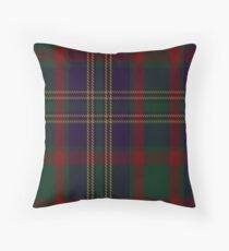 00319 Cork, County (District) Tartan  Throw Pillow