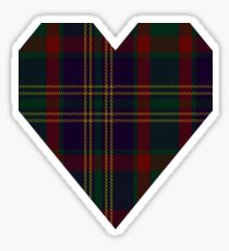 00319 Cork, County (District) Tartan  Sticker