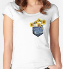 Pocket Full of Sunshine Women's Fitted Scoop T-Shirt