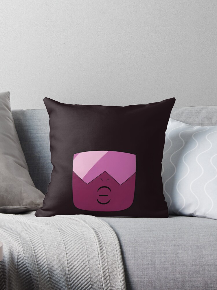 Garnet Head Pillow: Stoic by luigis-stashe