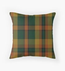 00336 Londonderry County District Tartan  Throw Pillow
