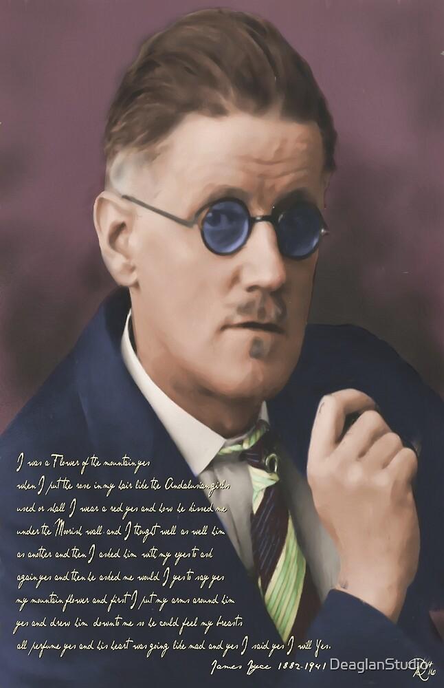James Joyce by DeaglanStudio