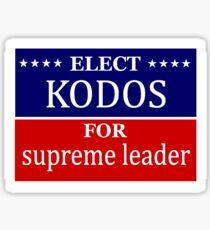Elect Kodos Sticker