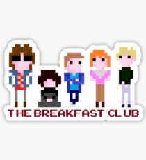 8-bit The Breakfast Club  Sticker
