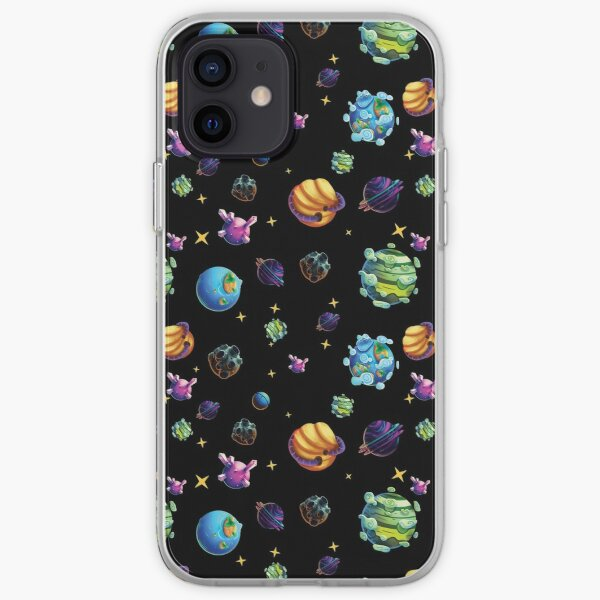 Fantasy Planet Repeatable Pattern iPhone Soft Case