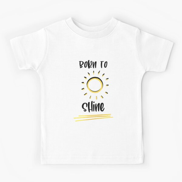 Positive Shirt Kids Kids Shirt Gift for Kids Shining Star Shine Bright School Outfit Good vibes Shirt First Day Of School