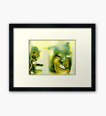 Super Squirrel & Man Dog Framed Print