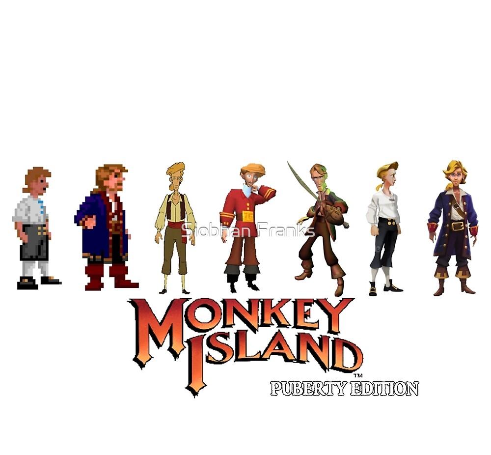 Monkey Island Guybrush - Puberty Edition  by Slae