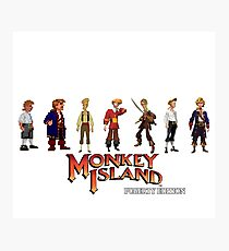 Monkey Island Guybrush - Puberty Edition  Photographic Print