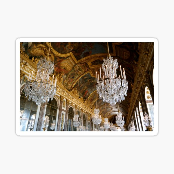 Hall of Mirrors, Versailles Sticker