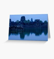 Angkor Wat at Dusk Greeting Card