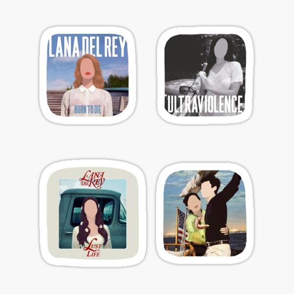 Albums de Lana Sticker