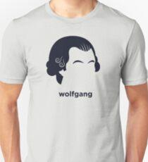 Wolfgang Mozart (Hirsute History) Unisex T-Shirt