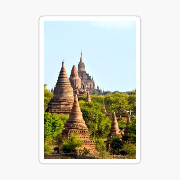 Temples aplenty – Bagan, Myanmar Sticker