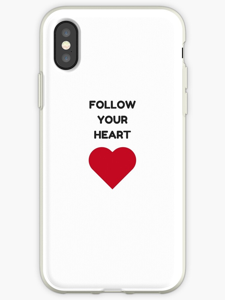 FOLLOW YOUR HEART by IdeasForArtists