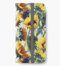 Sunflowers Forever iPhone Wallet/Case/Skin