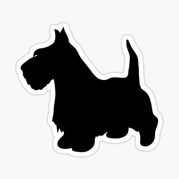 Scotty dog  Sticker