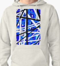 Blue reaction Pullover Hoodie