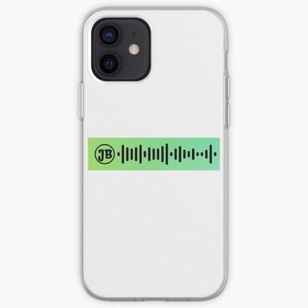 Lonely Spotify Code Funda blanda para iPhone