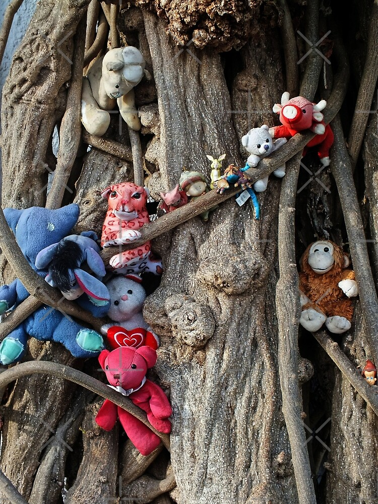 Teddy Tree by Yampimon