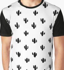 Tiny black cactus Graphic T-Shirt