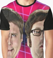 tim and eric show great job design Graphic T-Shirt