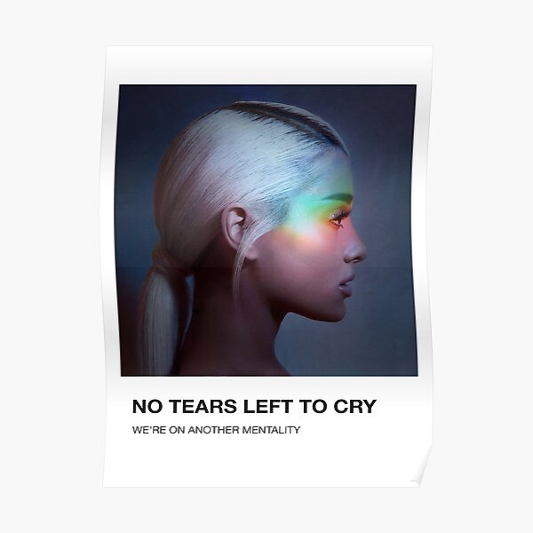 No tears left Poster