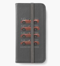 Mazda MX-5 evolution iPhone Wallet/Case/Skin