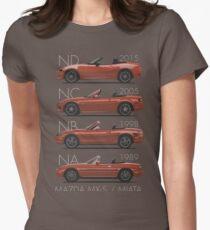 Mazda MX-5 evolution Women's Fitted T-Shirt