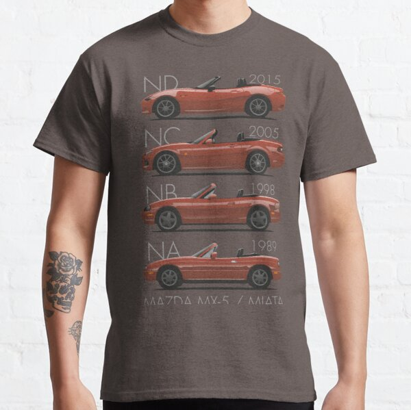 Mazda MX-5 evolution Classic T-Shirt