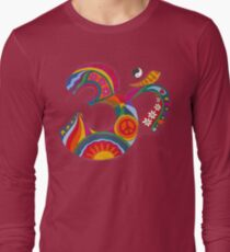 Fat Psychedelic Om T-Shirt
