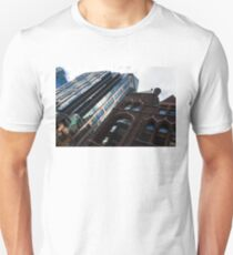 Yonge Street - Downtown Toronto Architecture Right Unisex T-Shirt