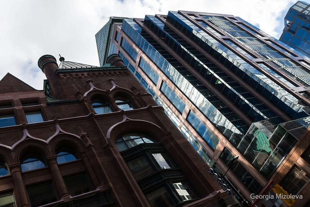Yonge Street - Downtown Toronto Architecture Left by Georgia Mizuleva