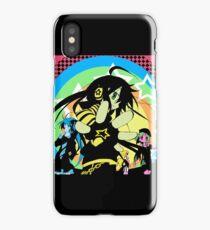 Lucky star Neon Konata,Kagami,Tsukasa iPhone Case/Skin