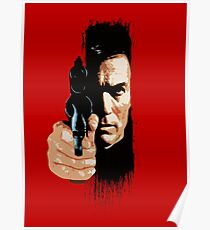 Clint Eastwood - Tightrope Poster